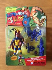 1994 Earthworm Jim Princess What's Her Name Action Figure, Playmates,MOC