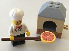 *NEW* Lego Minifig Friends Pizzeria CHEF with PIZZA OVEN