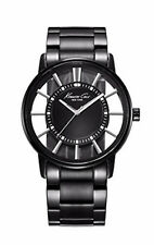Kenneth Cole New York Men's KC3994 Transparency Classic See-Thru Dial Round Case