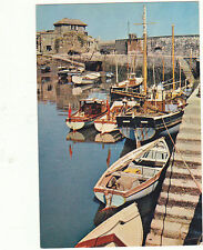 Unused Arthur Dixon Postcard Cornwall, Boats in Mevagissey Harbour, 330