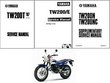 87-14 Yamaha TW200 Service Repair Workshop Manual CD  ....  TW 200