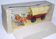 Starlux France 1:32 WILD WEST Far Frontier COVERED WAGON + COWBOY MIB`74 RARE!