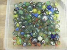 Job Lot of Assorted Vintage Marbles - 1kg approx - LOT 1