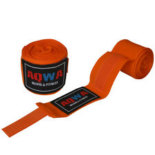 AQWA Hand Wraps Bandages Fist Boxing Inner Gloves MMA Cotton 4.5m Long Orange