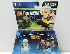 Lego Dimensions 71230 Fun Pack BTTF Doc Brown  Neu & OVP sofort lieferbar