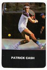 Tennis - 1987 Portugese Pocket Calendar Australian Grand Slam Winner Pat Cash