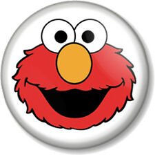 "Elmo 25mm 1"" Pin Button Badge Sesame Street Retro Kids TV Jim Henson Muppet Cute"