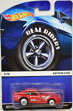 HOT WHEELS 2015 REAL RIDERS #3/18 DATSUN 240Z