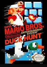 Super Mario Bros. & Duck Hunt -- NES Nintendo Game w/ Sleeve GUARANTEED! TESTED