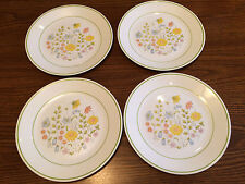 4 Vintage Corelle Spring Meadow 10 Inch Dinner Plates