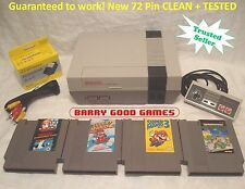 Nintendo NES Console System Bundle NEW PIN Game lot Super Mario 1 2 3 TMNT