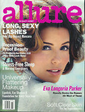 EVA LONGORIA 2008 Allure magazine no label, cover, article, 18 photos RHIANNA
