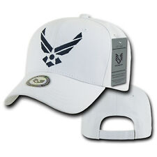 RapDom Air Force Wings Back To The Basics Mens Cap [Adjustable - White]