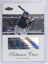2007 Topps Finest Rookie Moments Robinson Cano Autograph #RC *58902