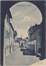 GALLICANO NEL LAZIO - VIA ROMA (ROMA) 1943