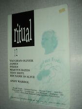 RITUAL 12 (9/90) VAUGHAN OLIVER JAMES PIXIES MARTYN BATES TEST DEPT ANDY WARHOL