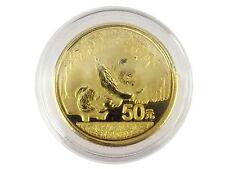 China 50 Yuan 2016 3,11 gr . 999 Gold 1/10 Unze Panda Stempelglanz