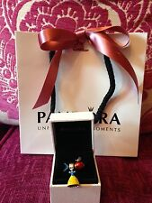 Genuine Disney Pandora Snow White Dress And Apple With Box & Bag