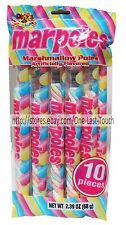 ALBERT'S^ 2.39 oz Bag MARPOLES Marshmallow Candy TWISTS 10 Individually Wrapped