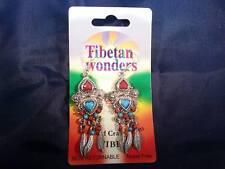 MERAVIGLIE TIBETANO orecchini senza nickel. Arti e Mestieri dal TIBET