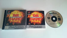 JUEGO COMPLETO DIE HARD TRILOGY SONY PLAYSTATION PS1 PSX PAL