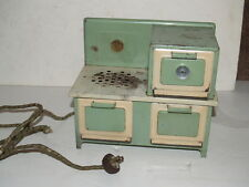 Vintage Kingston Little Lady Metal Stove with 3 door Oven - Works - Gets Hot