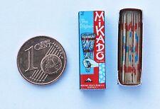 Mikado Spiel  Miniatur 1:12 Puppenstube Puppenhaus Setzkasten Diorama