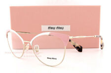 Brand New Miu Miu Eyeglass Frames MU 50P 50PV USQ PINK/GOLD For Women Size 54