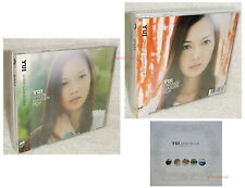 J-POP YUI GREEN +ORANGE GARDEN POP Taiwan 2-CD +promo White book