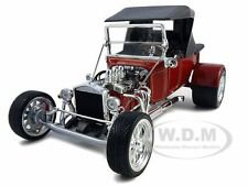 1923 FORD T-BUCKET SOFT TOP BURGUNDY 1:18 MODEL CAR BY ROAD SIGNATURE  92829