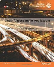 Linear Algebra and Its Applications 5E by Lay, McDonald 5th (Global Edition)