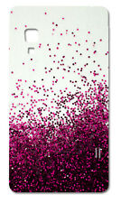 CUSTODIA COVER CASE FANTASIA BRILLANTI ROSA PINK PER LG OPTIMUS L5 2 II E460