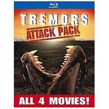 Tremors Attack Pack (Blu-ray Disc, 2013, 2-Disc Set)