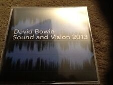DAVID BOWIE - SOUND AND VISION 2013 - NEW 2 TRACK CD PROMO