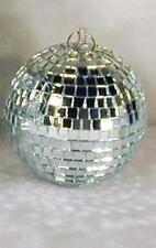 2 NEW DISCO MIRROR BALL 8 IN party supplies light balls dance spin ceiling light