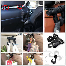 Black Portable Car Truck Seat Headrest Holder Hooks For Bag Clothes For Hyundai