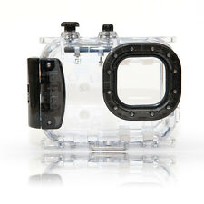 Seashell SS-2 Underwater 40M 130ft Waterproof Camera Housing Case BLACK SS2, NEW