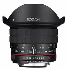 Rokinon 12mm F2.8 Ultra Wide Fisheye Full Frame Lens for Canon EOS DSLR Cameras