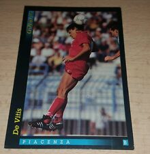 CARD GOLD 1993 PIACENZA DE VITIS CALCIO FOOTBALL SOCCER ALBUM