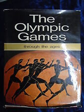 THE OLYMPIC GAMES THROUGH THE AGES - EKDOTIKE ATHENON 1976 - H/B WITH JACKET