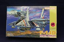 "F-14D Super Tomcat VF-2 ""Bounty Hunters"" 1:144 Scale Dragon Model Kit A3"
