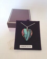 Heathergems Pendant - Medium Heart - New - First Quality - #6 - 32