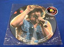 AC/DC Interview Picture Disc Rock LP IMPORT PICTURE DISC Baktabak BAK 2030