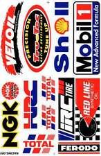 N-337 Sponsoren Aufkleber Sticker 1 Bogen 27 x 18 cm Racing Tuning