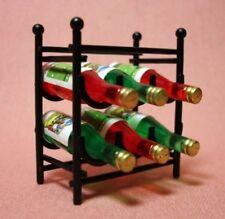 Dollhouse Miniature Wine Rack