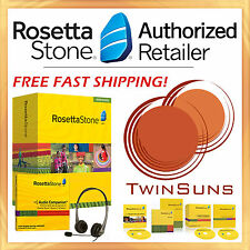 NEW Rosetta Stone® SPANISH LATIN AMERICAN LEVEL 1 HOMESCHOOL +HEADSET +AUDIO CD