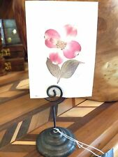 Swirl Cast Iron Rustic Place Card Holder Wedding Table Business Signage #12035
