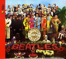 THE BEATLES - SGT PEPPER'S LONELY HEARTS CLUB BAND CD REMASTER