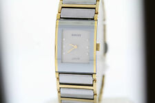Ladies Rado Integral Jubile´  R20750702 Two Tone Diamond Swiss Quartz Watch