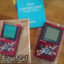 GameBoy Pocket Light Tezuka Osamu Japan *COMPLETE - NEW PIC & EXTRA $25 OFF* wow